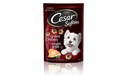 CESAR® SOFTIES™ GRILLED CHICKEN FLAVOUR 150g