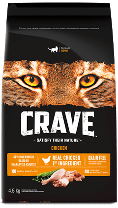 CRAVE™ WITH PROTEIN FROM CHICKEN 4.54KG