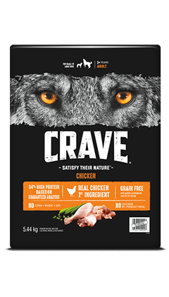 CRAVE™ WITH PROTEIN FROM CHICKEN 5.44KG