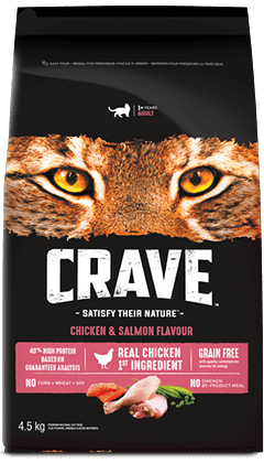 CRAVE™ CHICKEN & SALMON FLAVOUR