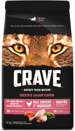 CRAVE™ CHICKEN AND SALMON FLAVOUR 1.81KG