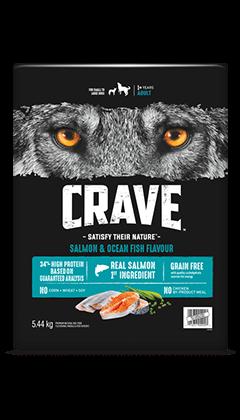 CRAVE™ SALMON & OCEAN FISH FLAVOUR 5.44KG