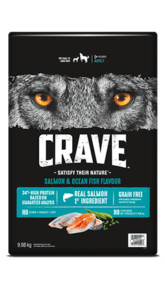 CRAVE™ SALMON & OCEAN FISH FLAVOUR 9.98KG