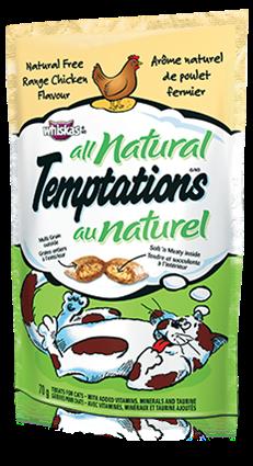TEMPTATIONS® All Natural Free Range Chicken