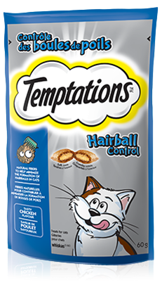 TEMPTATIONS® Hairball Control Treat