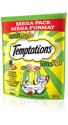 TEMPTATIONS® Mix-Ups Chicken, Catnip and Cheddar