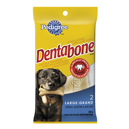 PEDIGREE® DENTABONE® Long-lasting Oral Care Chew for Large Adult Dogs