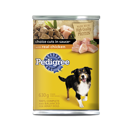 PEDIGREE® CHOICE CUTS® with Real Chicken