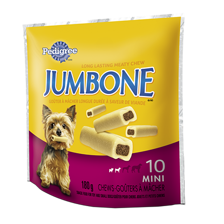 PEDIGREE® JUMBONE® Long-lasting Chew for Toy and Small Dogs