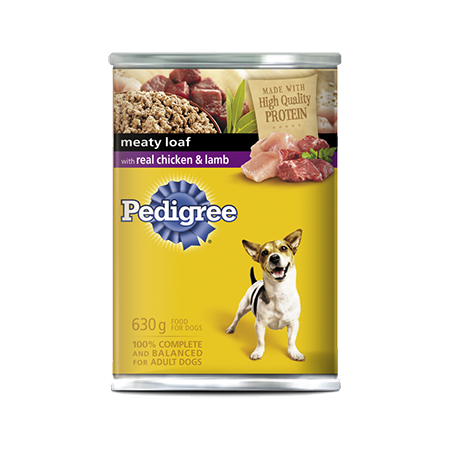 PEDIGREE® Meaty Loaf with Real Chicken & Lamb