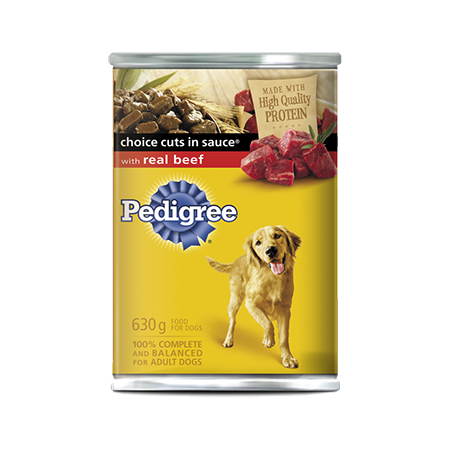PEDIGREE® CHOICE CUTS® with Real Beef