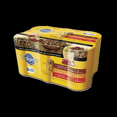 PEDIGREE® CHOICE CUTS® Variety Pack
