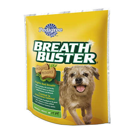 PEDIGREE® BREATHBUSTER® Snacks for Small Dogs