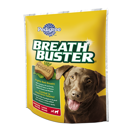 PEDIGREE® BREATHBUSTER® Snacks for Dogs