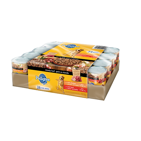 PEDIGREE® Meaty Loaf Variety Pack