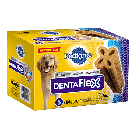 PEDIGREE® DENTAFLEX® for Large Dogs 6 pack