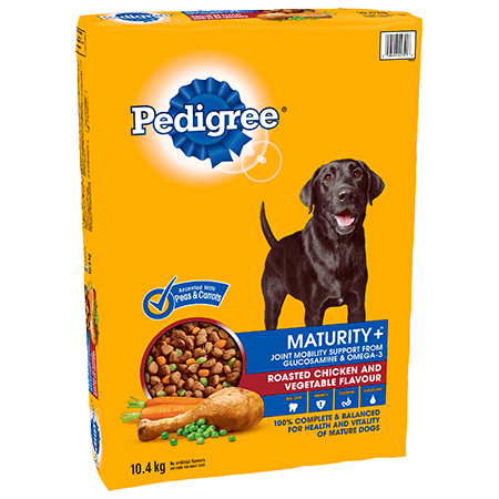 PEDIGREE MATURITY+™ Roasted Chicken and Vegetable Flavour 10.4kg