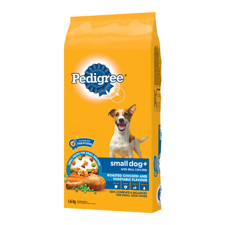 PEDIGREE SMALL DOG+™ Roasted Chicken and Vegetable Flavour 1.6kg