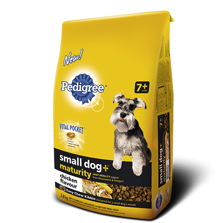 PEDIGREE SMALL DOG+MATURITY ™ Food for Mature Dogs in Chicken Flavour