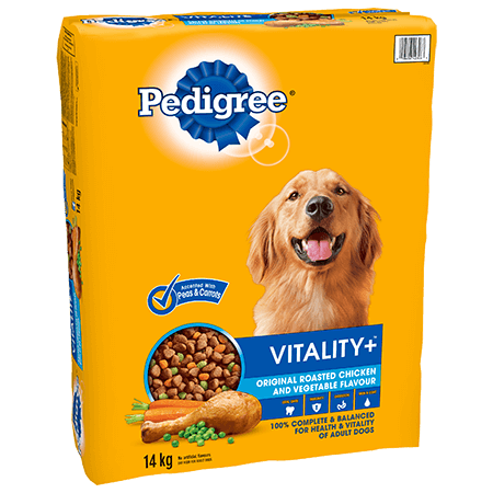 PEDIGREE®  VITALITY+™ Original Roasted Chicken and Vegetable Flavour 14kg