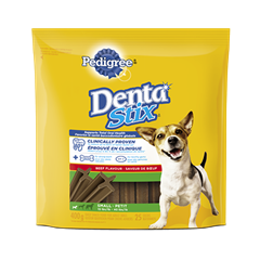 PEDIGREE® DentaStix® Daily Oral Care for Small Dogs - Beef Flavour