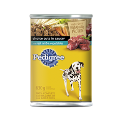 PEDIGREE® CHOICE CUTS® with Lamb & Vegetables