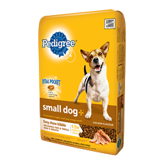 PEDIGREE SMALL DOG+™ Food for Adult Dogs