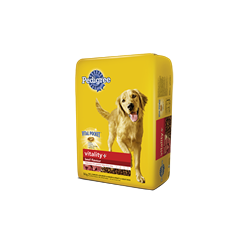 PEDIGREE VITALITY + ®Dry Food For Adult Dogs in Beef Flavour