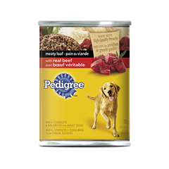 PEDIGREE® Meaty Loaf with Real Beef