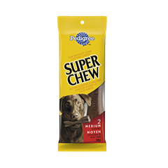 PEDIGREE® Super Chew Long-lasting Chew for Medium Dogs