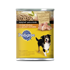 PEDIGREE® Meaty Loaf with Real Chicken