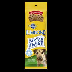 PEDIGREE® JUMBONE® TARTAR TWIST™ Snacks for Toy & Small Dogs