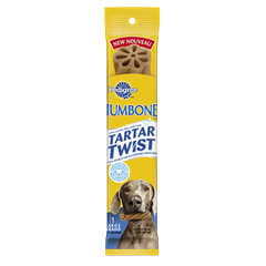 PEDIGREE® JUMBONE® TARTAR TWIST™ Snacks for Large Dogs