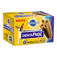 PEDIGREE® DENTAFLEX® for Small Dogs 6 pack