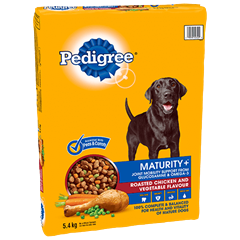 PEDIGREE MATURITY+™ Roasted Chicken and Vegetable Flavour 5.4kg