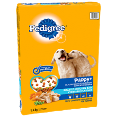 PEDIGREE PUPPY+™ Roasted Chicken and Vegetable Flavour 5.4kg