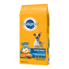 PEDIGREE SMALL DOG+ ™ Food for Adult Dogs in Chicken Flavour