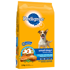 PEDIGREE SMALL DOG+™ Roasted Chicken and Vegetable Flavour 2.8kg