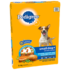 PEDIGREE SMALL DOG+™ Roasted Chicken and Vegetable Flavour 5.4kg