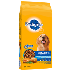 PEDIGREE VITALITY+™ Original Roasted Chicken and Vegetable Flavour 2kg