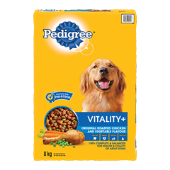 PEDIGREE VITALITY+™ Original Roasted Chicken and Vegetable Flavour 8kg