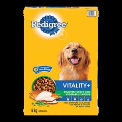 PEDIGREE VITALITY+™ Roasted Turkey and Vegetable Flavour 8kg