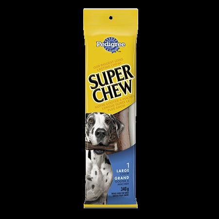 Goûter à mâcher longue durée PEDIGREE<sup>MD</sup> Super Chew  pour grands chiens