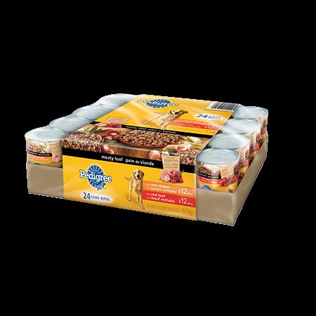 Nourriture humide pour chiens PEDIGREE<sup>MD</sup> Pain de viande format variété
