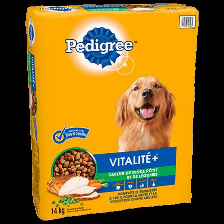 PEDIGREE Vitalité+<sup>MC</sup> saveur de dinde 14 kg