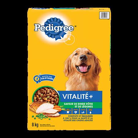 PEDIGREE® Vitalité+ saveur de dinde et de légumes 8kg