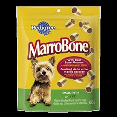 Goûter enrichi de vitamines PEDIGREE  MARROBONE<sup>MD</sup> pour petits chiens adultes saveur originale