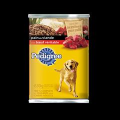Nourriture humide pour chiens PEDIGREE<sup>MD</sup> Pain de viande avec bœuf véritable