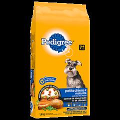 PEDIGREE® PETITS CHIENS+<sup>MC</sup>  Maturité saveur de poulet rôti et de légumes 1.6kg