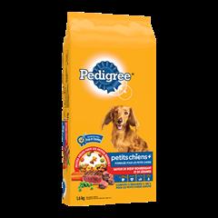 PEDIGREE® Petits chiens+ saveur de bœuf nourrissant et de légumes 1.6kg